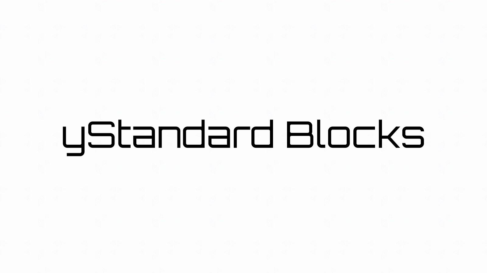 yStandard用ブロックエディター拡張プラグイン「yStandard Blocks」のβ版を公開します!